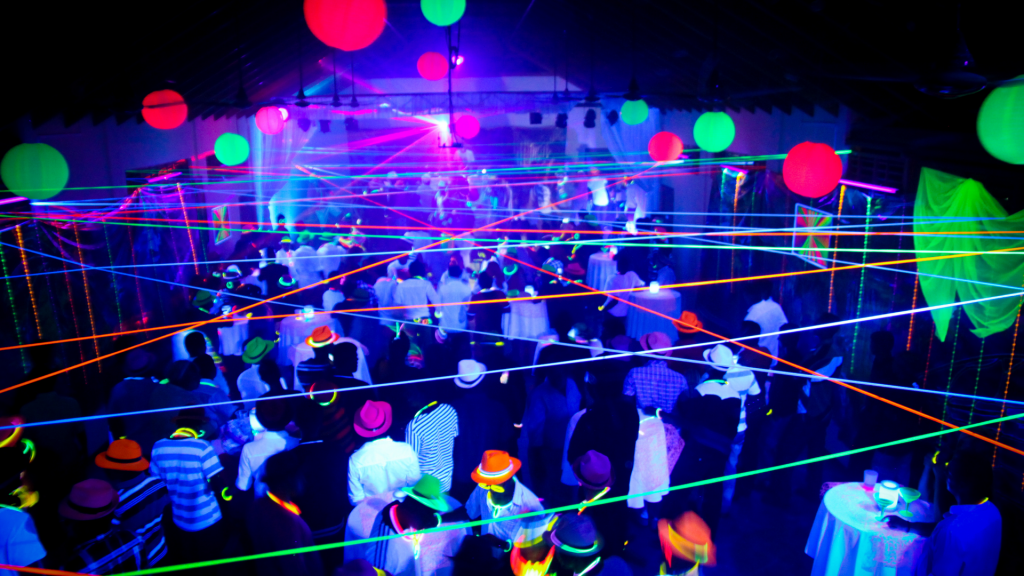 Neon Themed Party Ideas